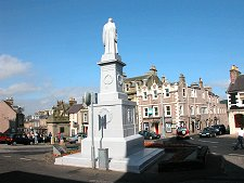 Market Place & Sir Walter Scott Statue